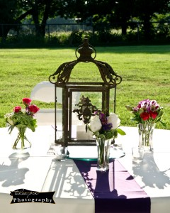 Lantern table decoration